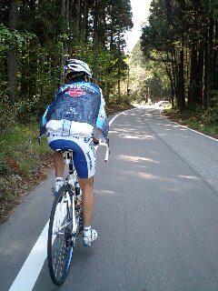 榛名山への激坂